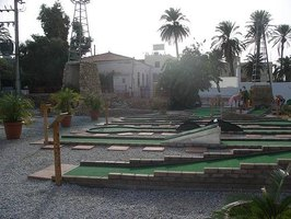 A Greek Mini Golf Course