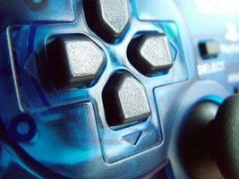 Close up of a PS2 Controller