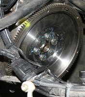 Auto transmission flywheel