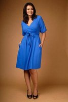 Plus-size dress from designer Olivia Harper