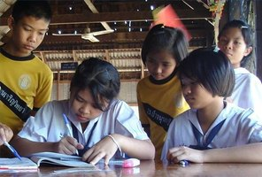 Thai elementary school students