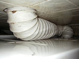 Clothes dryer exhaust hose.