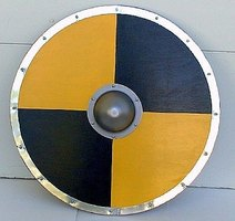 Learn to make a replica viking shield you can use!