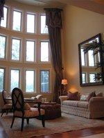 Tall window treatment