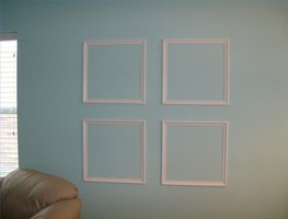 Picture frame squares