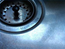 A Clean Stainless Steel Sink
