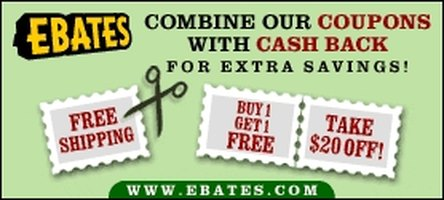 Earn cash back rebates on your next online purchase!