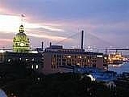 Savannah, Georgia Cityscape
