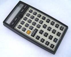 A calculator is a handy tool for any accountant.