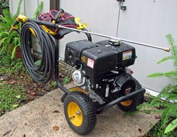 Honda Powered Pressure Washer