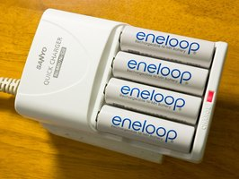 Charging NiMH rechargeable batteries.
