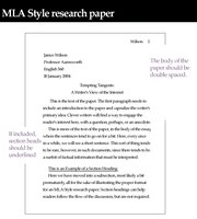 How to Write an MLA Heading for Essays .
