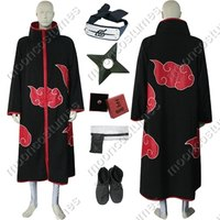 Making Akatsuki cloaks takes some sewing skill.