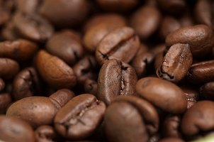 Coffee beans can be pleasing to look at.