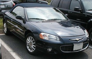 Locate the Battery on a Chrysler Sebring Convertible