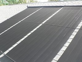 Maintain Pool Solar Panels