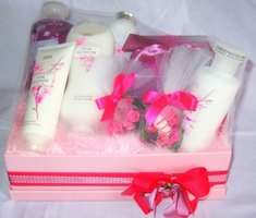 Bath and Body Basket