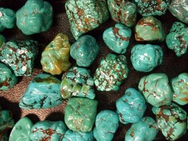 Types of Green Turquoise