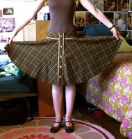 Cut Out A Skirt Pattern