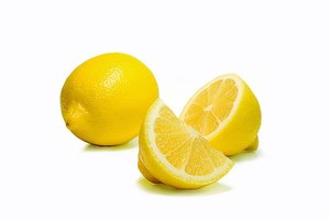 Lemons can help clean uric acid from your body.