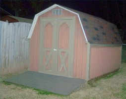 Paint an Outdoor Shed