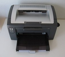 A common desktop printer