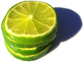 Limes contain citric acid.