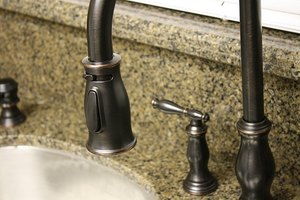 A sink is an integral part of any kitchen or bathroom.