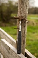 How to repair a wobbly fence post