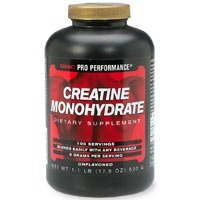 Creatine monohydrate will help you gain muscle.