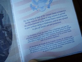 What Is a Passport Services Information Card?