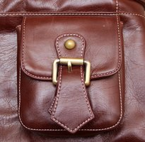Repair the scuff marks on your leather items.