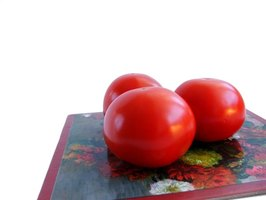 Tomatoes are among the crops often genetically modified.