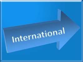 International phone numbers contain an international prefix, county code and local phone number.