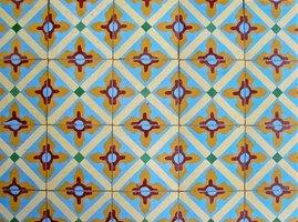 Marokkanske fliser vinyl