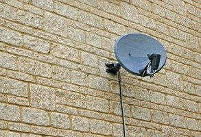 DirecTV provides television programming via satellite dishes.