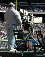 TV production managers oversee technical aspects of a television broadcast.
