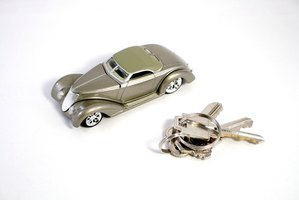 There are creative ways to gift someone with a set of car keys.