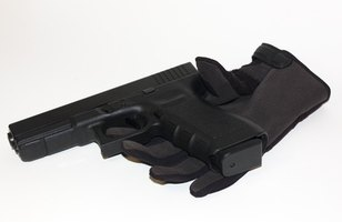 Glock pistols are easy to aim and shoot.