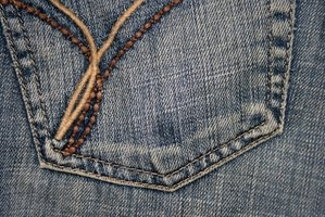Each brand of jeans has distinguishing characteristics.
