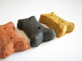Artificial colorings are used to enhance the appearance of dog food.