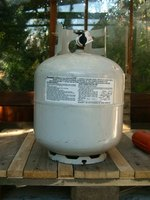 Propane leaks can set off an allergic reaction.