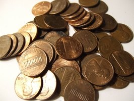 Pennies include several transition metals.