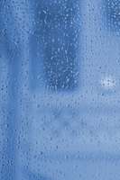 Shower doors require frequent maintenance to stay clean and transparent.