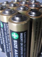 Batteries offer direct current.