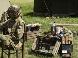 Military survival kits are necessary in the field.