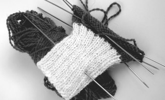 Knit socks the easy way