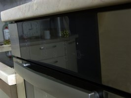 A new door hinge will make your oven door open smoothly.
