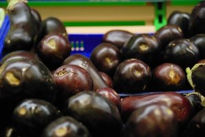 Eggplants are nutritious and make a great side dish.