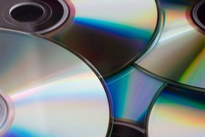 HP Recovery files are burned to blank CD-Rs